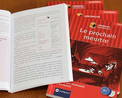 Lernkrimis Französisch (Niveau A1- B2)